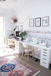 Affordable Diy Home Office Decor Ideas With Tutorials 49