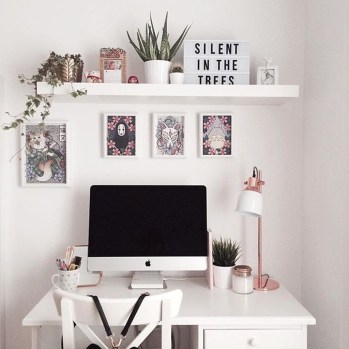 Affordable Diy Home Office Decor Ideas With Tutorials 51