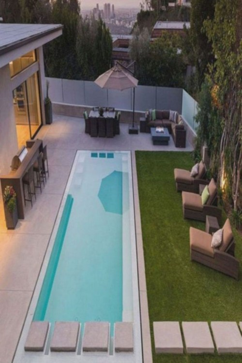 Amazing Swimming Pools Design Ideas For Small Backyards 35