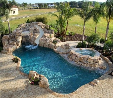 Amazing Swimming Pools Design Ideas For Small Backyards 49