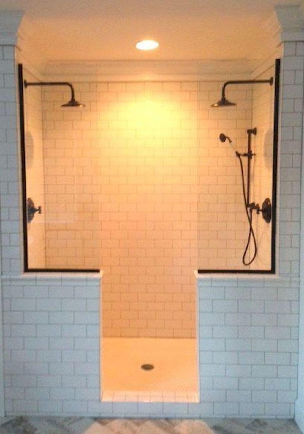 Astonishing Farmhouse Shower Tile Decor Ideas To Try 03