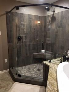 Astonishing Farmhouse Shower Tile Decor Ideas To Try 28