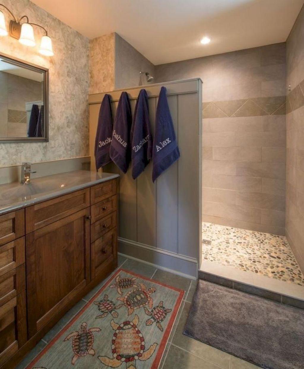 Astonishing Farmhouse Shower Tile Decor Ideas To Try 29