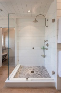 Astonishing Farmhouse Shower Tile Decor Ideas To Try 30
