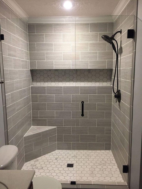 Astonishing Farmhouse Shower Tile Decor Ideas To Try 49