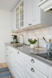 Comfy White Kitchen Cabinets Design Ideas To Try 02