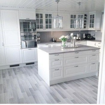 Comfy White Kitchen Cabinets Design Ideas To Try 06