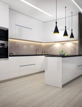 Comfy White Kitchen Cabinets Design Ideas To Try 08