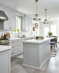 Comfy White Kitchen Cabinets Design Ideas To Try 10