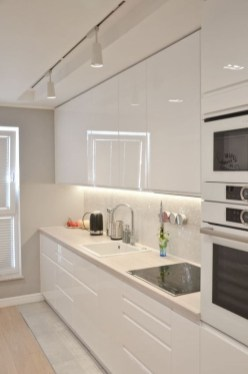 Comfy White Kitchen Cabinets Design Ideas To Try 15