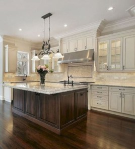 Comfy White Kitchen Cabinets Design Ideas To Try 30