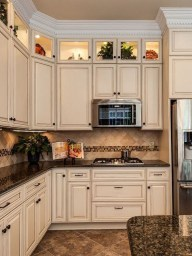 Comfy White Kitchen Cabinets Design Ideas To Try 39