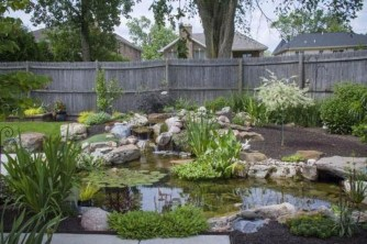 Cool Fish Pond Garden Landscaping Ideas For Backyard 02