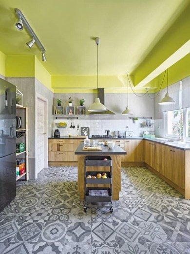 Cool Kitchen Designs Idas With Tones Of Vibrant Colors That You Must See 13