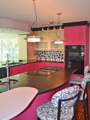 Cool Kitchen Designs Idas With Tones Of Vibrant Colors That You Must See 36