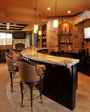 Cozy Home Bar Designs Ideas To Make You Cozy 09