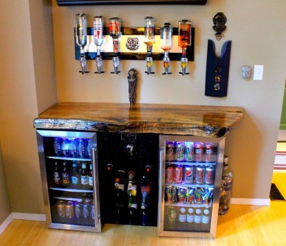 Cozy Home Bar Designs Ideas To Make You Cozy 27