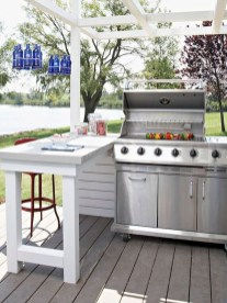 Cozy Outdoor Kitchen Decor Ideas For You 23