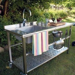 Cozy Outdoor Kitchen Decor Ideas For You 35
