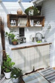 Cozy Outdoor Kitchen Decor Ideas For You 51