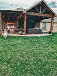 Enchanting Backyard Patio Remodel Ideas To Try 38