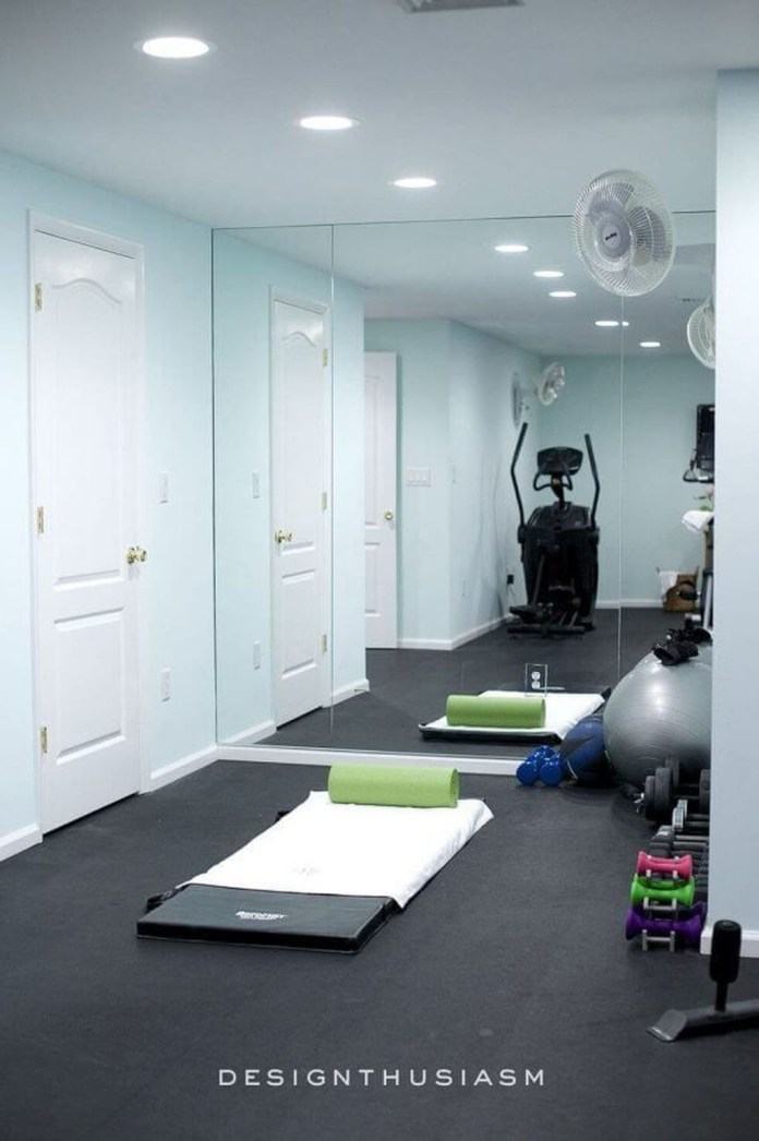 Enchanting Home Gym Spaces Design Ideas To Try Asap 07