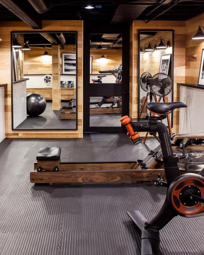 Enchanting Home Gym Spaces Design Ideas To Try Asap 34