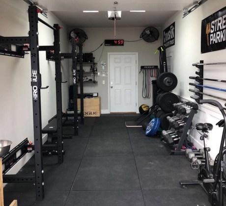 Enchanting Home Gym Spaces Design Ideas To Try Asap 39