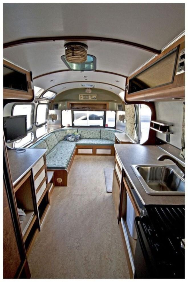 Excellent Airstream Interior Design Ideas To Copy Asap 29