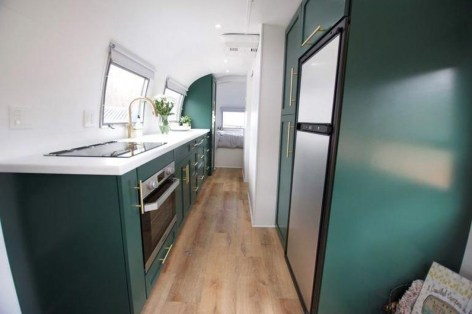 Excellent Airstream Interior Design Ideas To Copy Asap 32