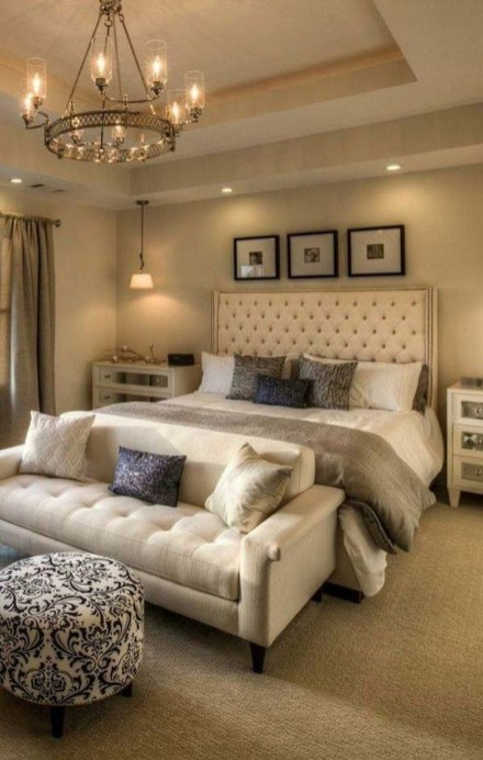 Fancy Champagne Bedroom Design Ideas To Try 08