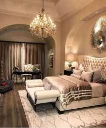 Fancy Champagne Bedroom Design Ideas To Try 16