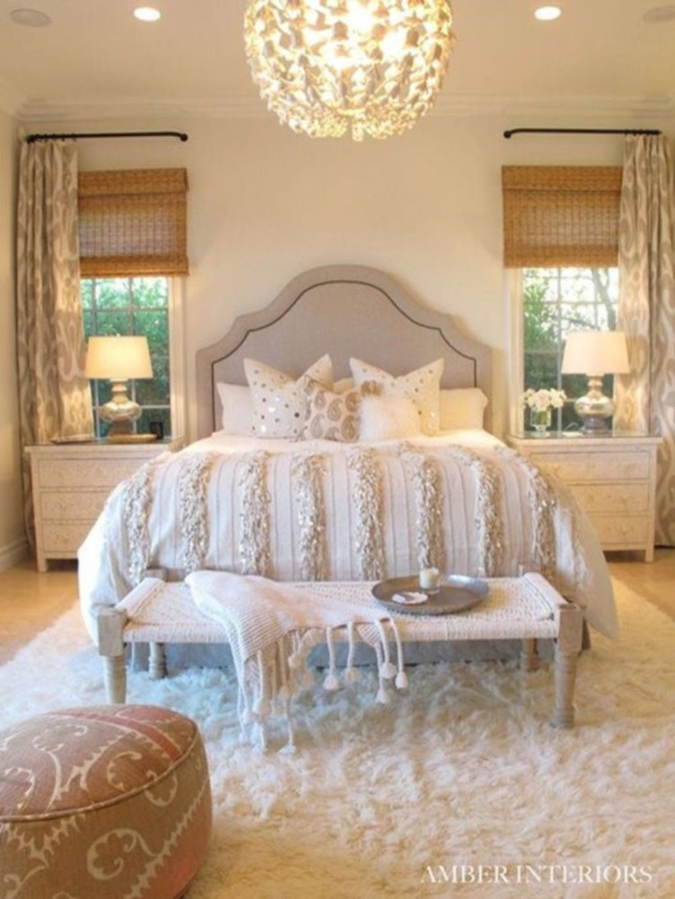 Fancy Champagne Bedroom Design Ideas To Try 20