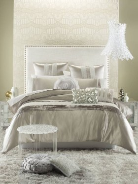 Fancy Champagne Bedroom Design Ideas To Try 42