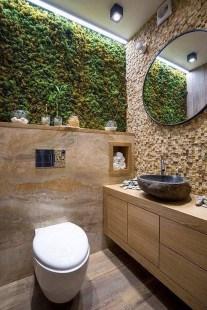 Inspiring Small Bathroom Design Ideas With Wood Decor To Inspire 19