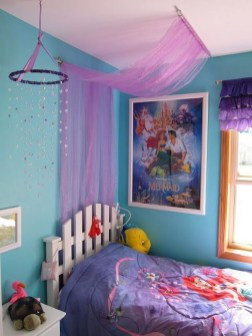 Magnificient Mermaid Themes Ideas For Children Kids Room 02
