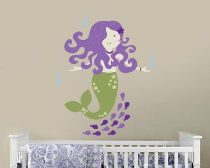 Magnificient Mermaid Themes Ideas For Children Kids Room 06