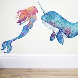 Magnificient Mermaid Themes Ideas For Children Kids Room 21