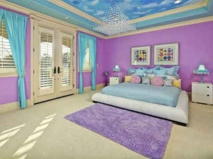 Magnificient Mermaid Themes Ideas For Children Kids Room 29