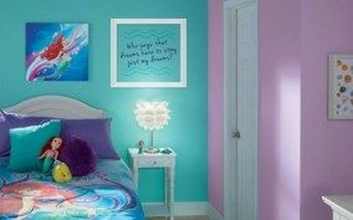 Magnificient Mermaid Themes Ideas For Children Kids Room 31