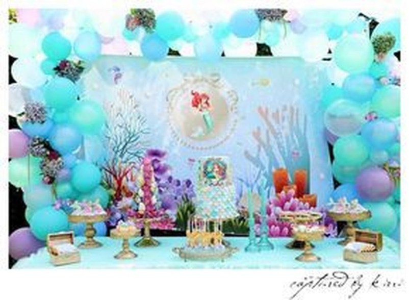 Magnificient Mermaid Themes Ideas For Children Kids Room 38