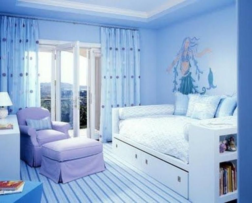 Magnificient Mermaid Themes Ideas For Children Kids Room 45