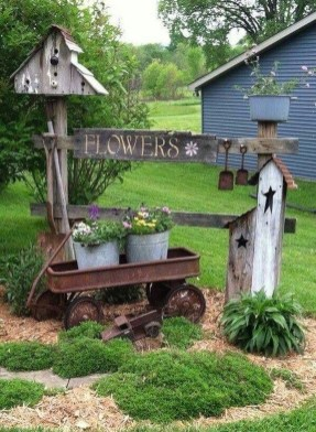 Modern Flower Beds Rocks Ideas For Front House To Try 27