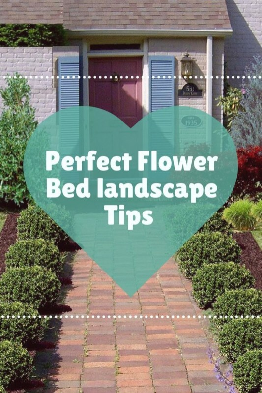 Modern Flower Beds Rocks Ideas For Front House To Try 37