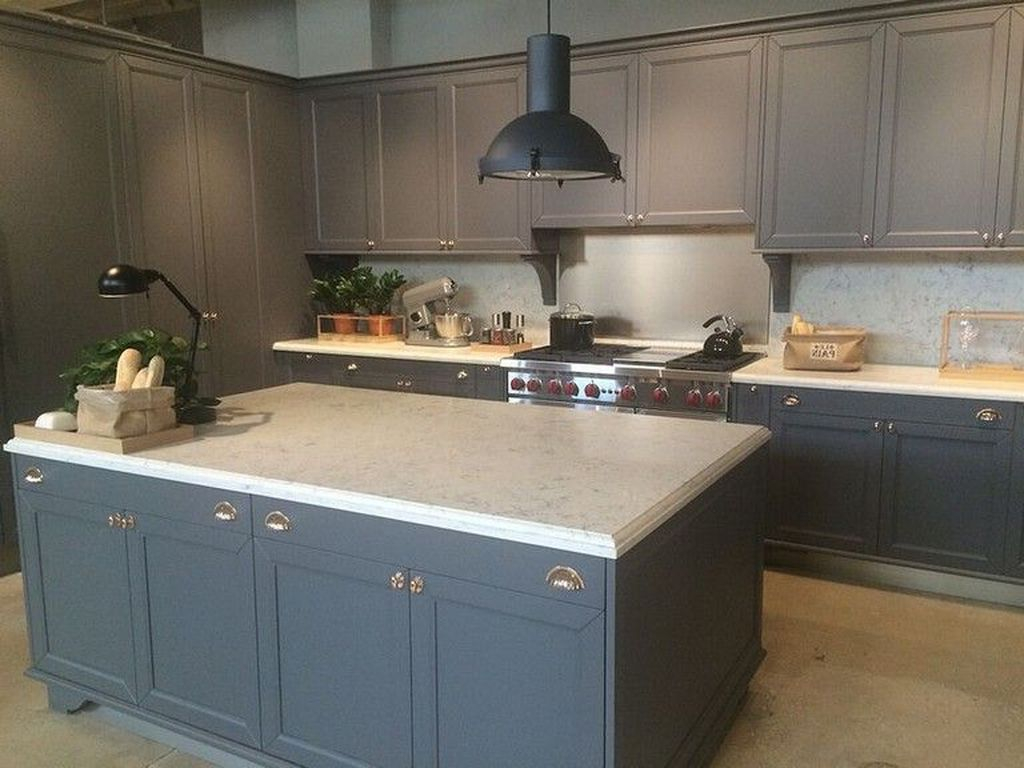 Relaxing Kitchen Cabinet Colour Combinations Ideas To Try 24