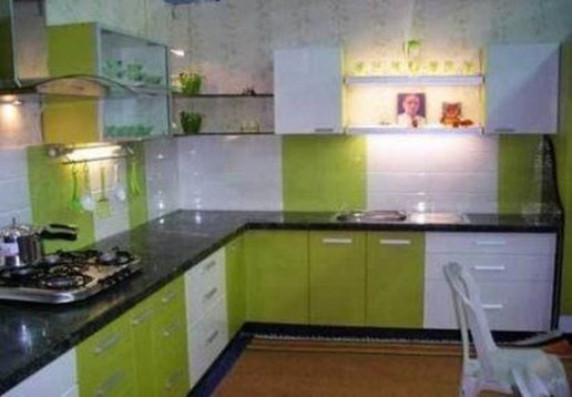 Relaxing Kitchen Cabinet Colour Combinations Ideas To Try 45