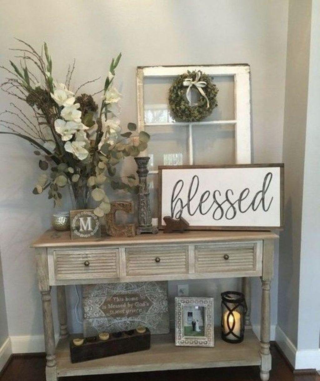 Splendid Farmhouse Living Room Decor Ideas 12