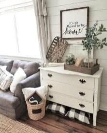 Splendid Farmhouse Living Room Decor Ideas 22