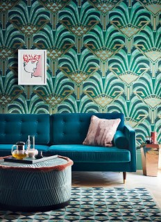 Stylish Pattern Interior Design Ideas For Your Room 50