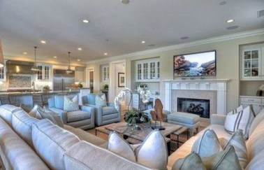 Superb Layout Design Ideas For Family Room 11